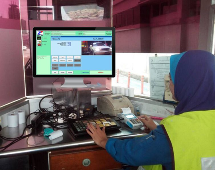 Lane Software with ALPR