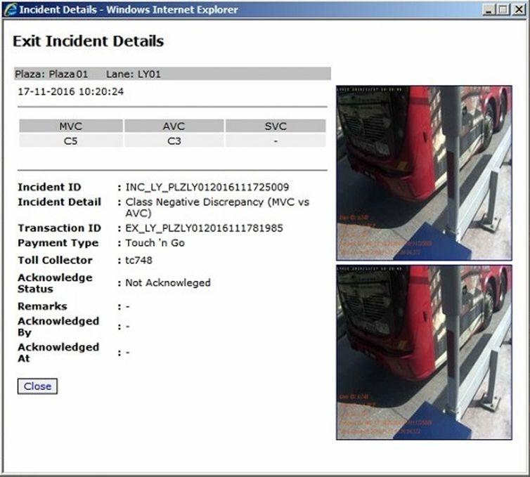 Incident Capturing System (ICS)